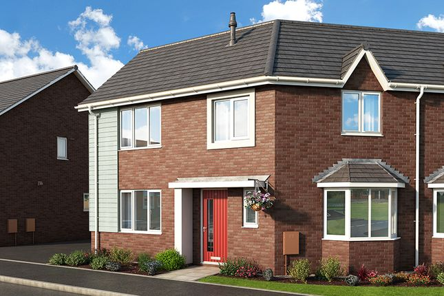 """Thumbnail Property for sale in """"The Lily At Meadow View, Shirebrook"""" at Brook Park East Road, Shirebrook, Mansfield"""