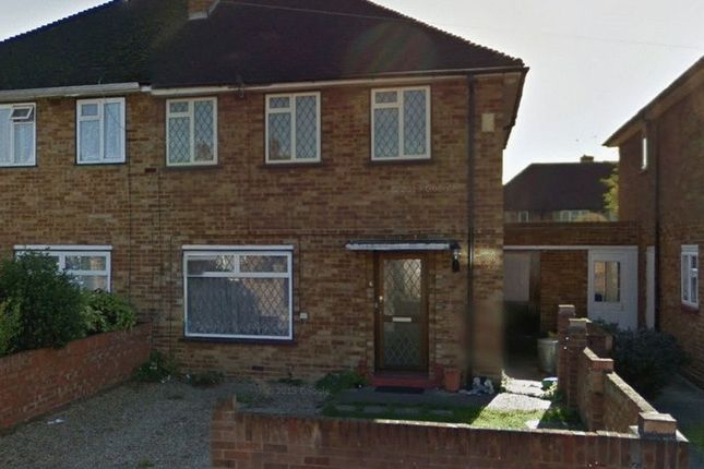 Thumbnail Semi-detached house to rent in Evelyns Close, Uxbridge