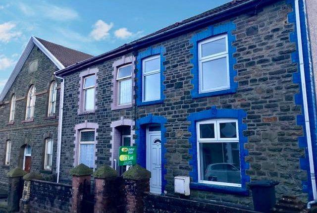 Thumbnail Property to rent in High Street, Ynysybwl, Pontypridd
