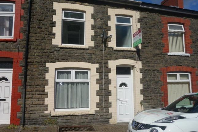 Thumbnail Terraced house to rent in Laura Street, Treforest