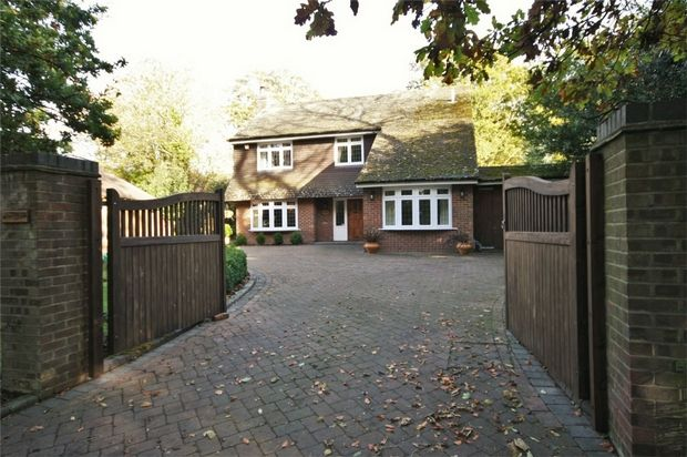 Thumbnail Detached house for sale in Winkton, Christchurch, Dorset