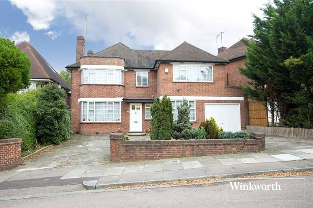 5 bed detached house for sale in Highview Gardens, Finchley, London