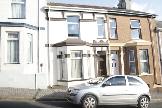 Thumbnail End terrace house to rent in Townshend Avenue, Keyham, Plymouth
