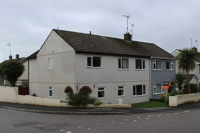Thumbnail Semi-detached house for sale in Fairfield Close, St. Austell