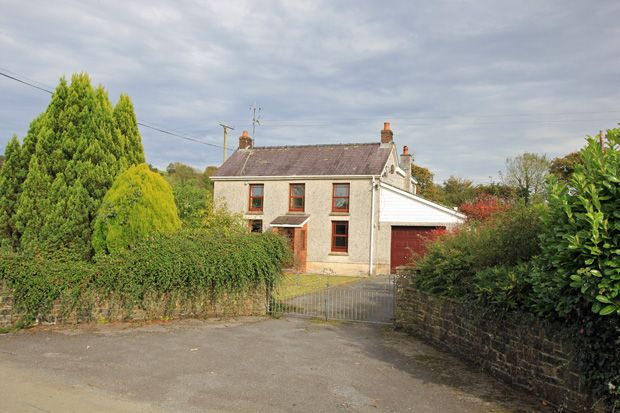 Thumbnail Detached house to rent in Peniel, Carmarthen, Carmarthenshire