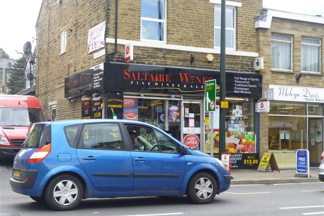 Thumbnail Retail premises for sale in Bingley Road, Bradford