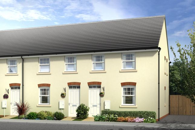 "Thumbnail End terrace house for sale in ""Strathmore"" at Wonastow Road, Monmouth"