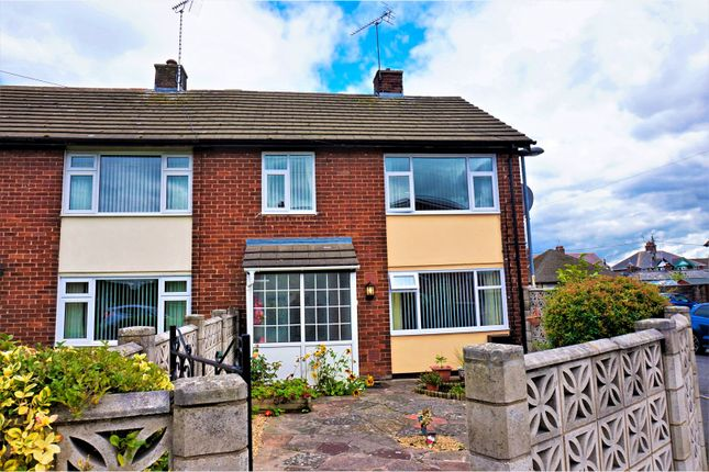 Thumbnail End terrace house for sale in Alyn Road, Buckley