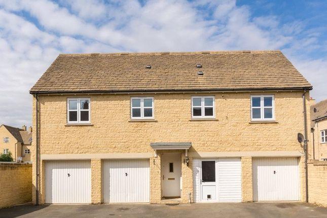 Thumbnail Maisonette to rent in Elmhurst Way, Carterton, Oxfordshire