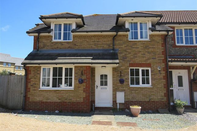 Thumbnail Terraced house to rent in Long Beach View, Eastbourne