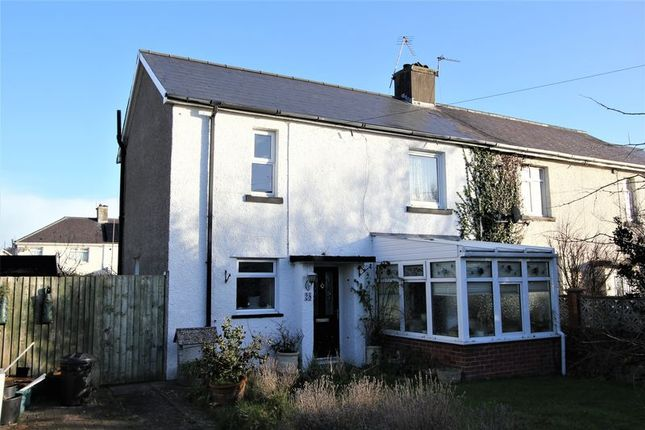 Thumbnail Semi-detached house for sale in Pantycelyn Place, St. Athan, Barry