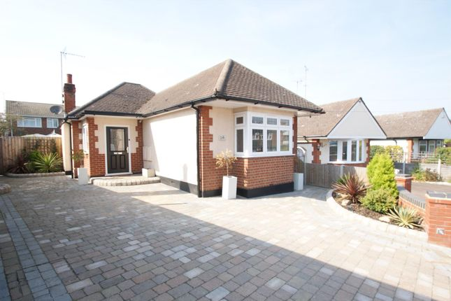 Thumbnail Detached bungalow for sale in Flamboro Close, Eastwood, Leigh-On-Sea
