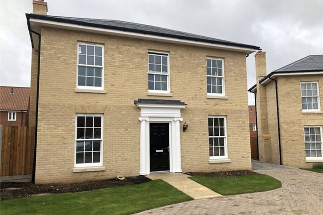 Thumbnail Detached house for sale in St George's Park, George Lane, Loddon, Norwich