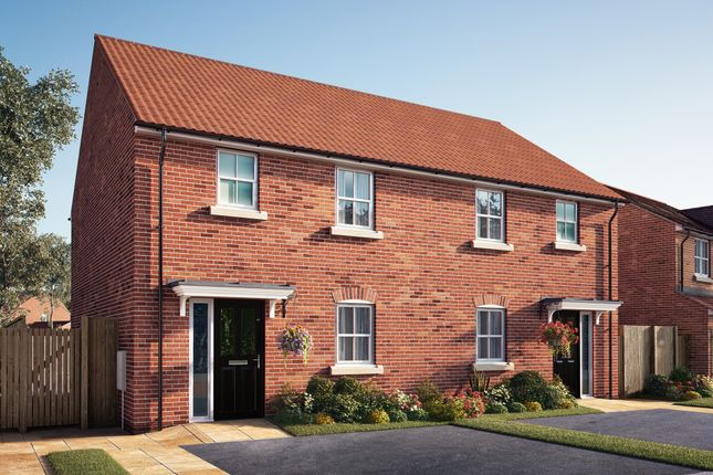 "Thumbnail Semi-detached house for sale in ""The Sandgate"" at Southfield Lane, Tockwith, York"