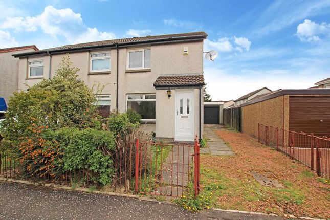 2 bed semi-detached house for sale in Manse View, Newarthill, Motherwell ML1