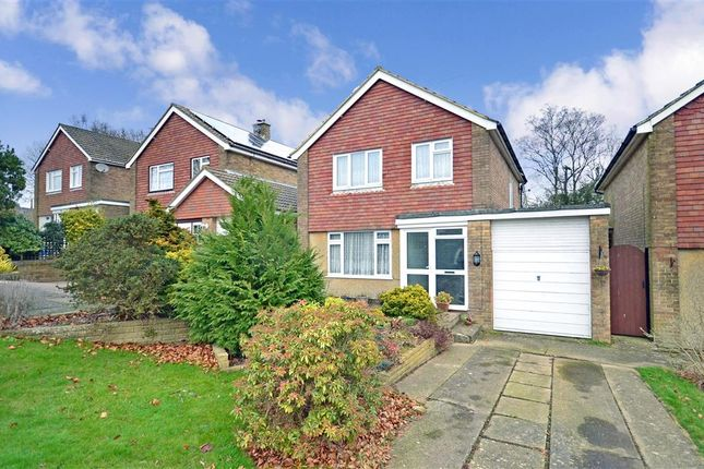 Thumbnail Detached house for sale in Woodland Way, Crowborough, East Sussex