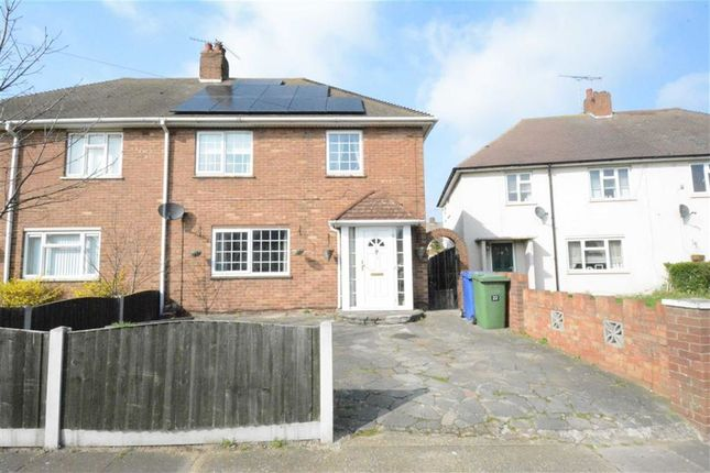 Thumbnail Semi-detached house for sale in Hall Crescent, Aveley Village, Essex