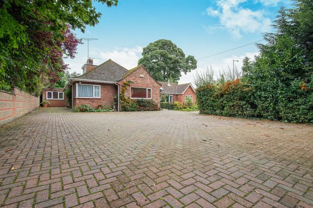 Thumbnail Detached bungalow for sale in Spixworth Road, Old Catton, Norwich