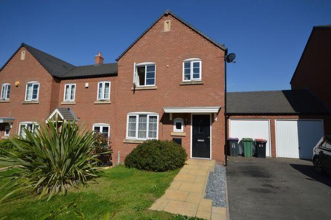 Thumbnail Terraced house for sale in Park Lane, Woodside, Telford