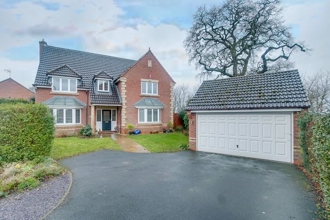 Thumbnail Detached house for sale in Defford Close, Webheath, Redditch