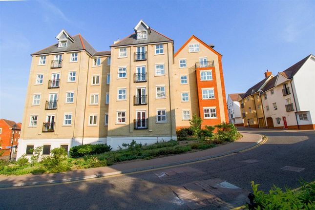 Thumbnail Flat for sale in Henry Laver Court, St Marys, Colchester