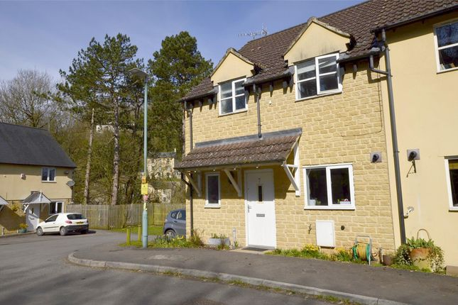 Thumbnail End terrace house for sale in Old Station Close, Chalford, Gloucestershire