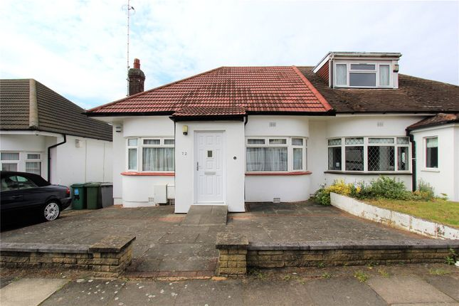 Thumbnail Semi-detached bungalow for sale in Kinloch Drive, London
