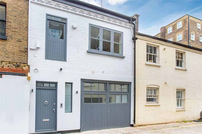 Thumbnail Mews house for sale in Lancaster Mews, London
