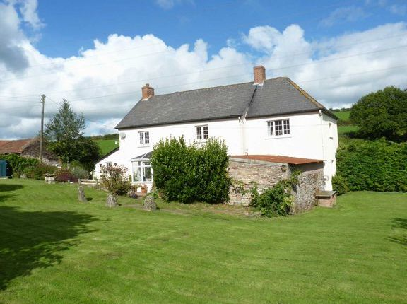 Thumbnail Farmhouse for sale in Morebath, Tiverton