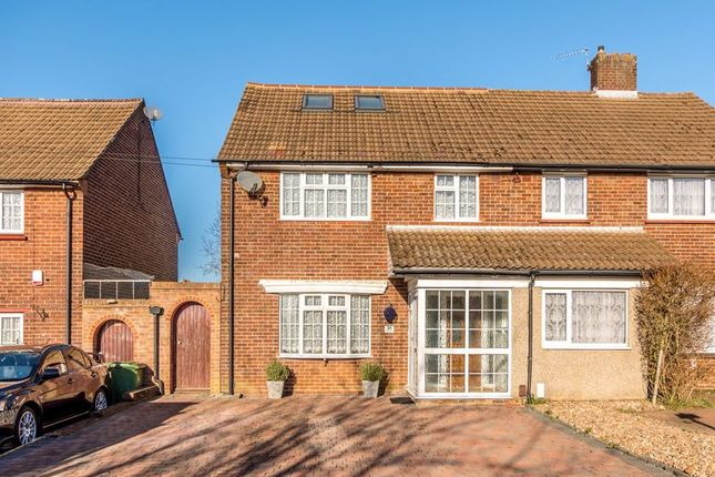 4 bed semi-detached house for sale in Stirling Drive, Chelsfield, Orpington BR6