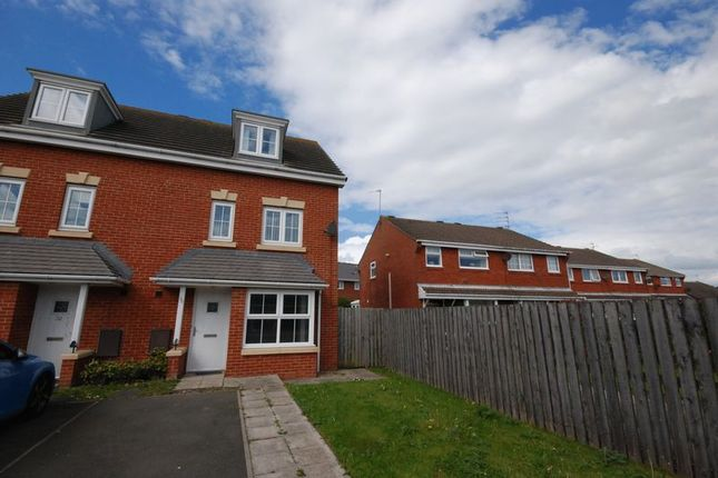 Thumbnail Semi-detached house to rent in Manor Drive, Newbiggin-By-The-Sea