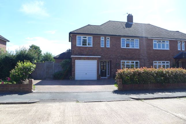 Thumbnail Semi-detached house for sale in Broadfields, East Molesey