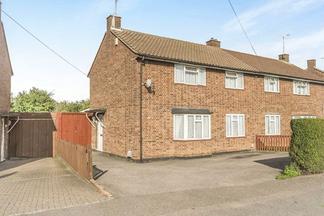Thumbnail Semi-detached house for sale in Birchwood Close, Hatfield