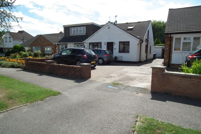 Thumbnail Semi-detached bungalow to rent in The Shrublands, Potters Bar