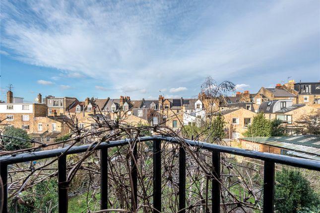 Balcony of Fieldsway House, Fieldway Crescent, Highbury, London N5
