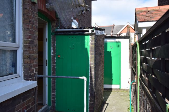 Rear Of Garage of Whitley Road, Eastbourne BN22