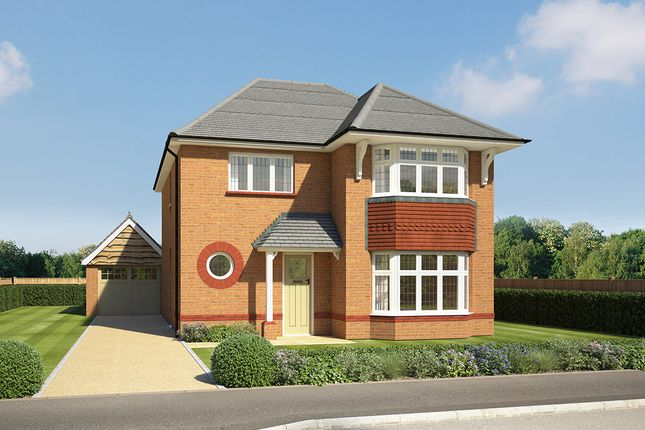 "Thumbnail Detached house for sale in ""Leamington Lifestyle"" at Orwell Drive, Arborfield, Reading"