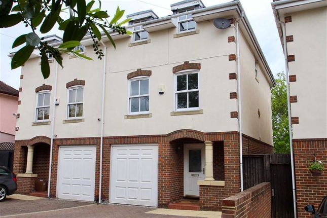 Thumbnail Semi-detached house for sale in Palmerston Road, Buckhurst Hill, Essex