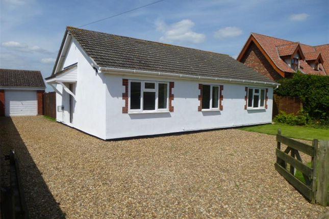 Thumbnail Detached bungalow for sale in Hardingham Road, Hingham, Norwich