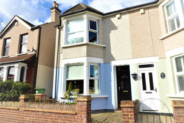 Thumbnail Semi-detached house for sale in Hansol Road, South Bexleyheath, Kent
