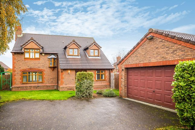 Thumbnail Detached house for sale in Bronte Grove, Ewloe, Deeside