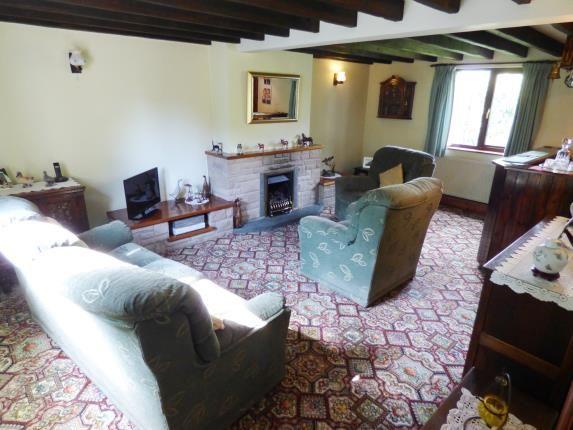 Living Room of Hernstone Lane, Peak Forest, Buxton, Derbyshire SK17