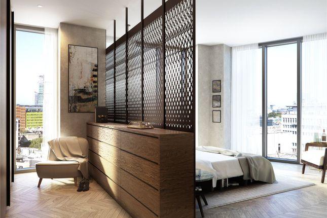 Bedroom of Hexagon Apartments, Parker Street, Covent Garden, London WC2B