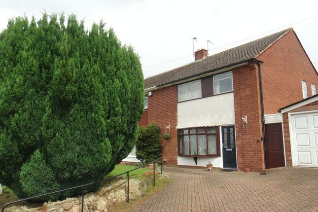 Thumbnail Semi-detached house for sale in Bilbrook Road, Bilbrook, Wolverhampton