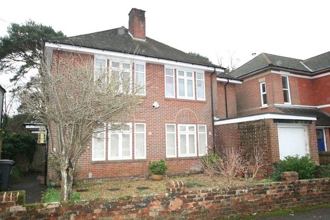 Thumbnail Flat to rent in Rushton Crescent, Meyrick Park, Bournemouth, Dorset