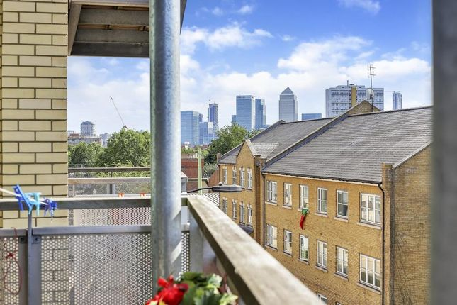 Balcony View of Findlay House, Trevithick Way, London E3