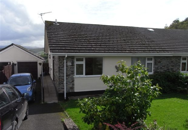 Thumbnail Bungalow to rent in Hornapark Close, Lifton