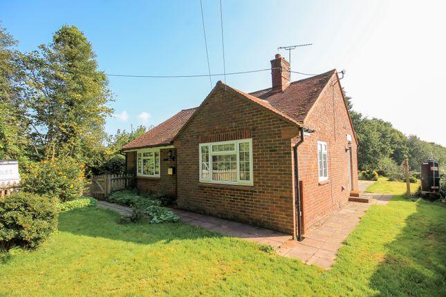 Thumbnail Detached bungalow to rent in Cansiron Lane, Cowden, Edenbridge