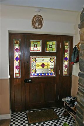 Entrance Porch of The Old Mill, The Corony, Maughold IM7