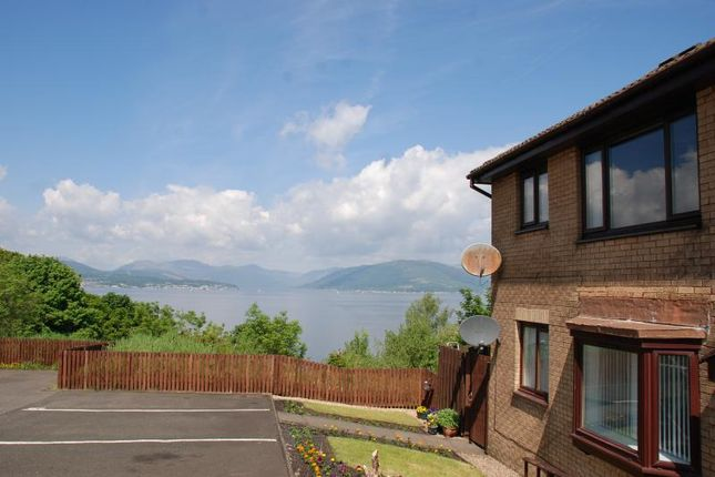 Thumbnail Flat to rent in Dunrobin Drive, Gourock